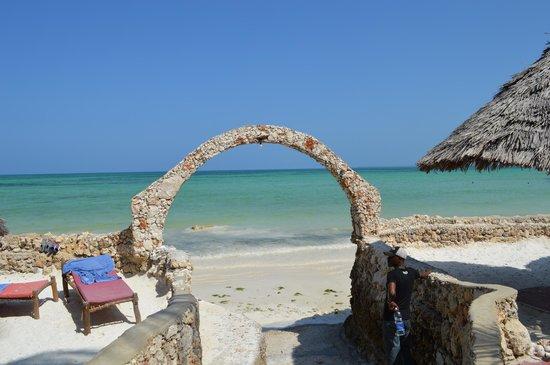 Palumboreef Beach Resort: mare