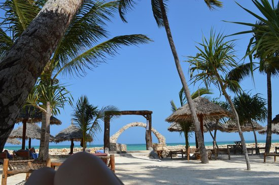 Palumboreef Beach Resort: spiaggia del villaggio