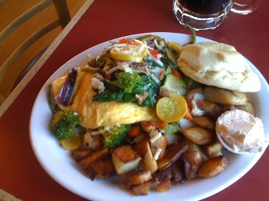 The Coffee House: Vegetable Omlette