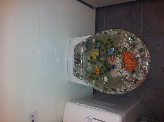 Stuart Landsborough's Puzzling World: interesting toilet cover