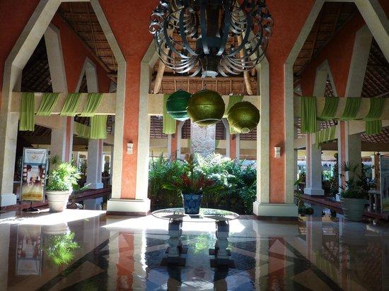 Grand Palladium Kantenah Resort & Spa: lobby Kantenan