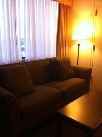 DoubleTree by Hilton Hotel Cleveland-Independence: couch in room