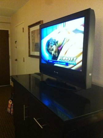 DoubleTree by Hilton Hotel Cleveland-Independence: nice big tv