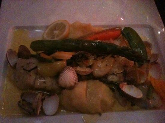 Restaurant Les Viviers Saint Martin : poisson