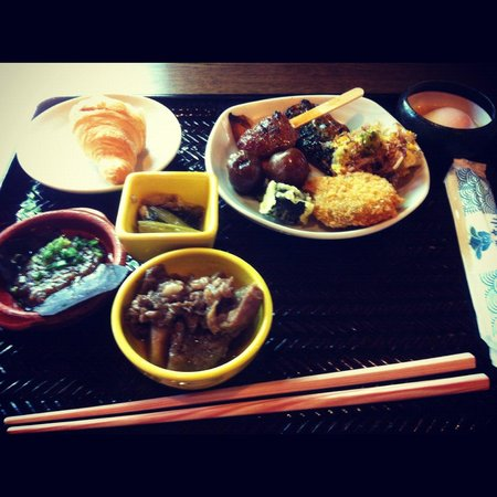 Takayama Ouan: Some of the breakfast goods