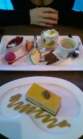 La Cremaillere: desserts