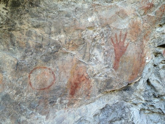 Angell Expeditions: Ancient pictographs that Charlie Angell took us to see in the state park