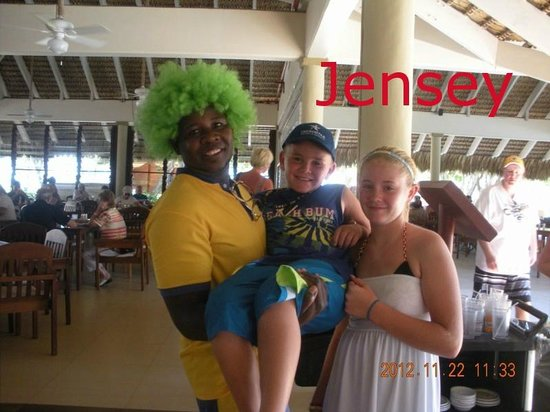 Iberostar Bavaro Suites: Jensey gave us smiles EVERYDAY!