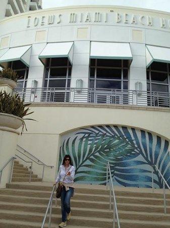 Loews Miami Beach Hotel: fronte spiaggia