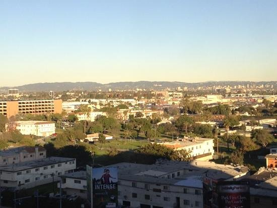 The Westin Los Angeles Airport: 10Fからの眺め。飛行機の着陸が見えます