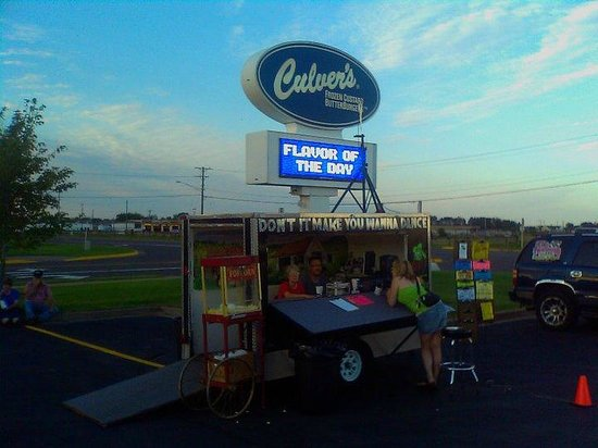 Culver's: great time at the car show