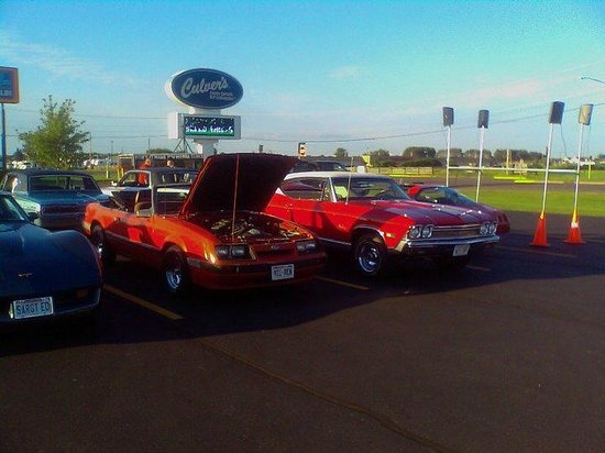 Culver's: car show at cluvers each thursday night