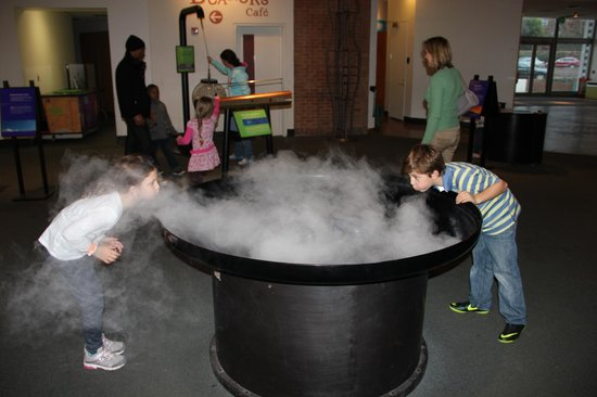 Maryland Science Center: The Fogger!