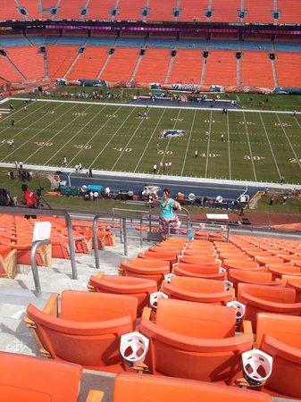 Sun Life Stadium: general view