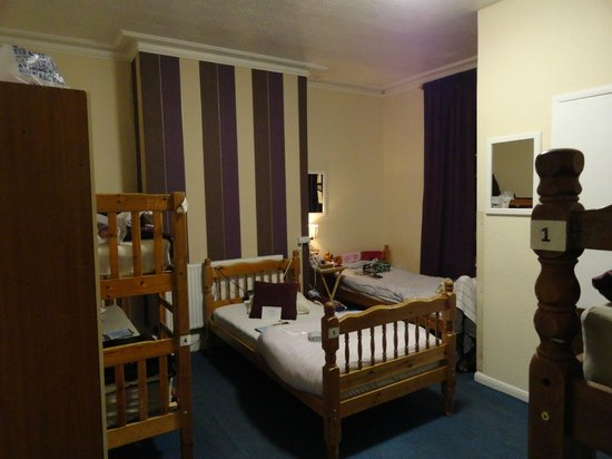 Kipps: 10 bed dormitory room