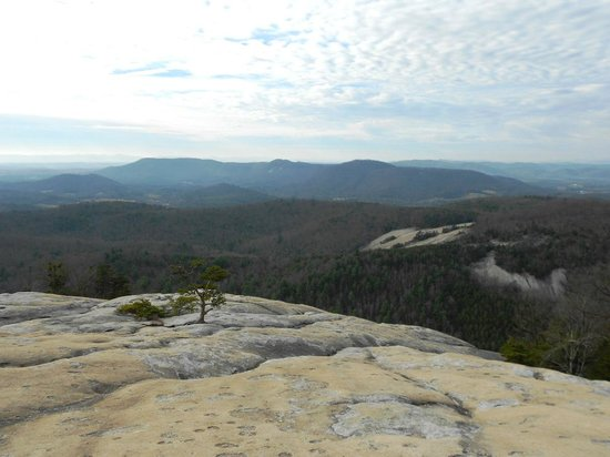 Stone Mountain State Park: View from Stone Mountain Summit