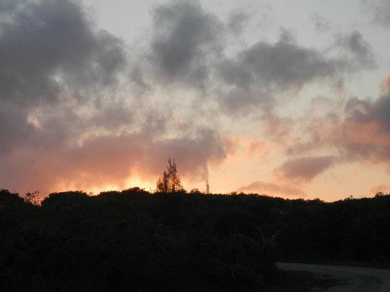 Tropical Dreams Rentals: Sunset view from the Motel
