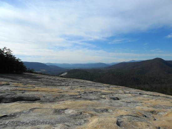 Stone Mountain State Park: View from Wolf Rock