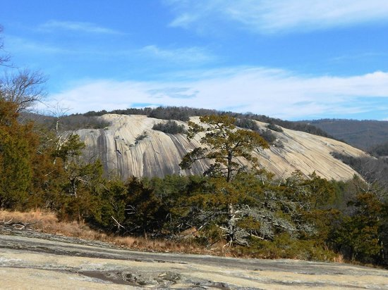 Stone Mountain State Park: Stone Mountain from Cedar Rock