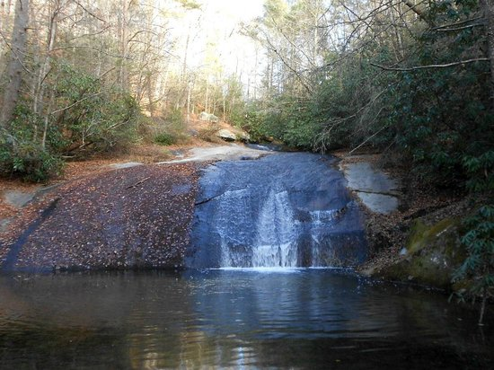 Stone Mountain State Park: Lower Falls
