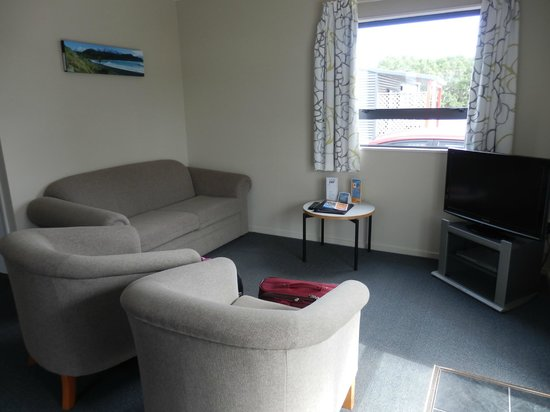 Kaikoura Top 10 Holiday Park: two bed room motel unit