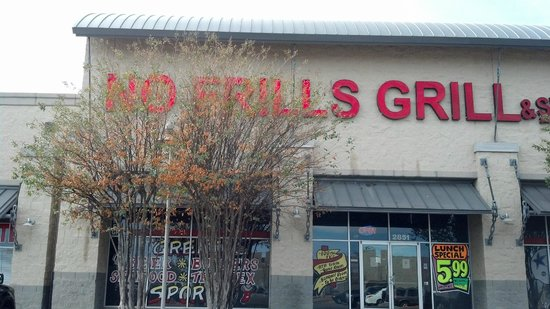 No Frills Grill & Sports Bar
