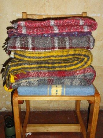 Posada del Abuelito: toasty warm blankets