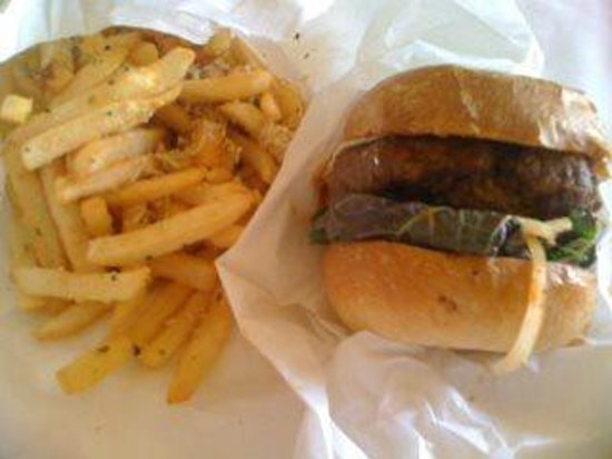 The Standing Room: Fries & Burger