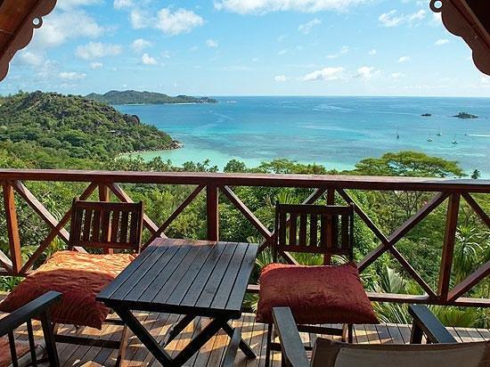 Anse Volbert, Seychelles: Breakfast view