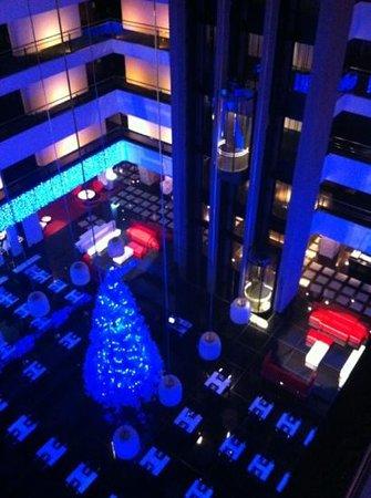 Hilton Madrid Airport: Decoración de Navidad