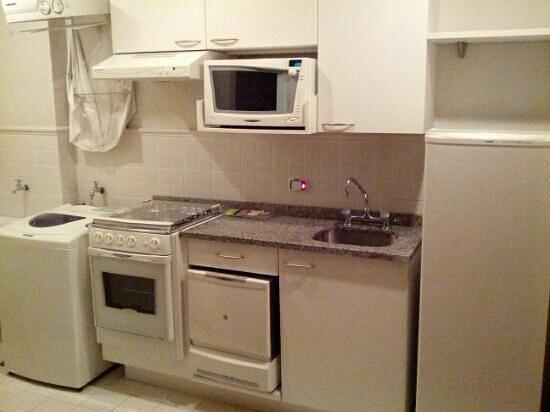 Adagio Curitiba Parque Barigui: cozinha bem equipada