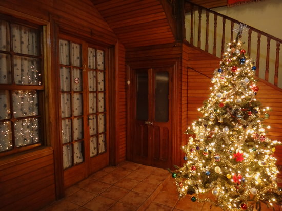 Casa Alfi : Our lovely Christmas tree as decorated by one of our amazing guests
