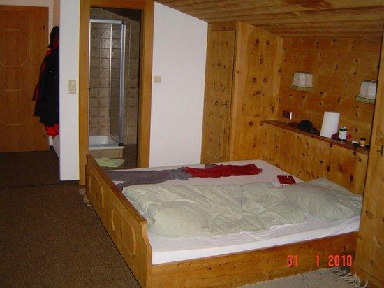 Pension Mitterhof: Een van de kleinste kamers voor een vrijgezel!