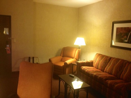 Drury Inn & Suites Flagstaff : Sitting area in the suite