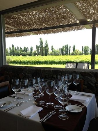 B&B Plaza Italia: Great restaurant/Lunch during wine tour