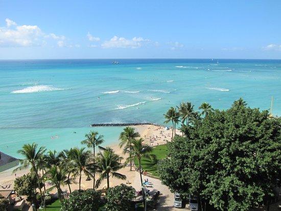Aston Waikiki Circle Hotel: 部屋からのワイキキビーチ