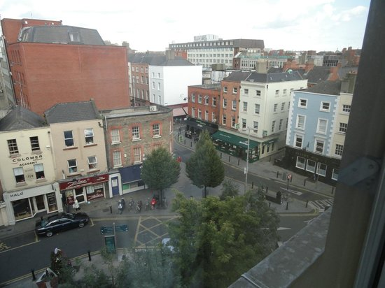 Grafton Capital Hotel: View from the window