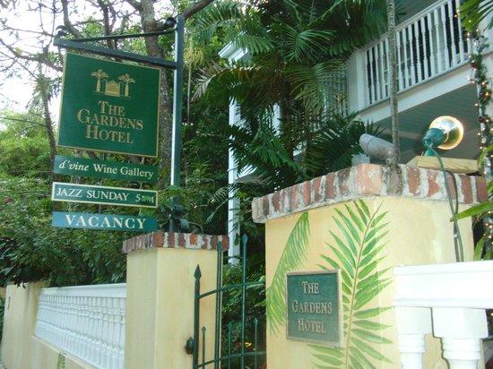The Gardens Hotel: ホテル名