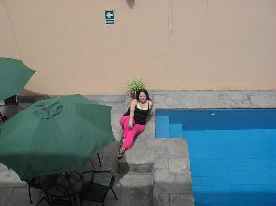 Hotel LLaqta: En el área de la piscina