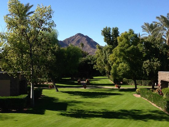 DoubleTree Resort by Hilton Paradise Valley - Scottsdale: view from our room