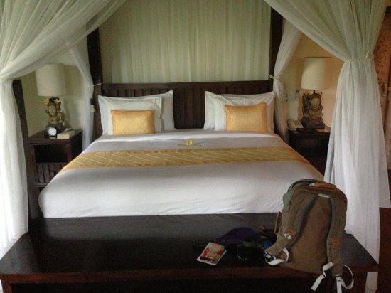 Bidadari Private Villas & Retreat: Sleep like a rock here:)