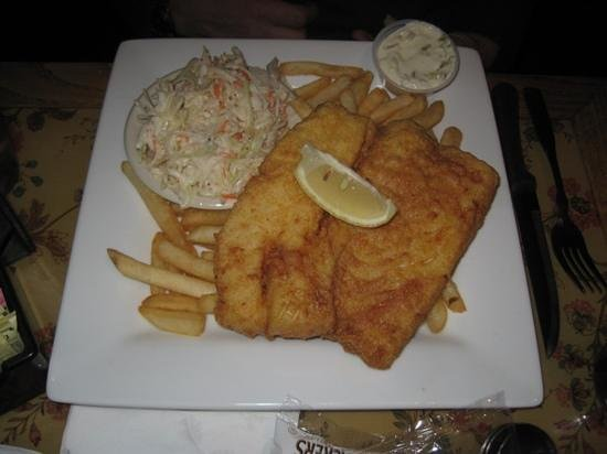 Freestone's City Grill: fish and chips