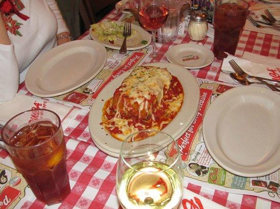 Buca di Beppo: Lasagna
