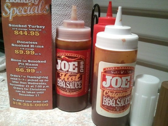 Oklahoma Joe's BBQ : Condiments