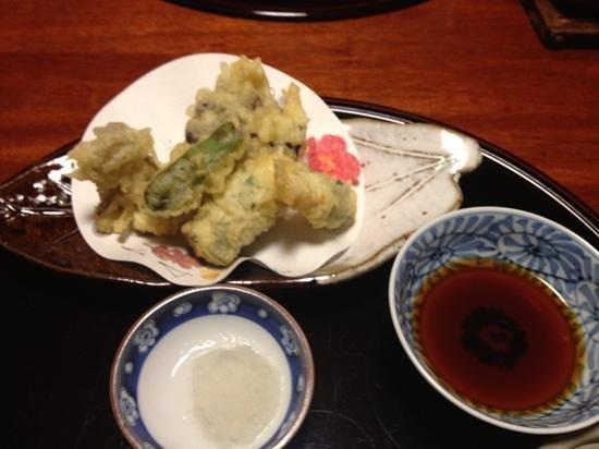 Tsurugata: tempura