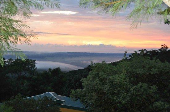 Tiriguro Lodge: Vue mer depuis la terrasse