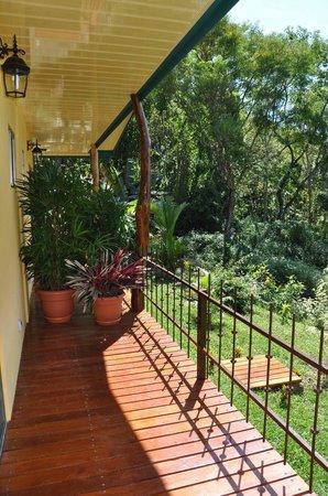 Tiriguro Lodge: Terrasse casita Mango