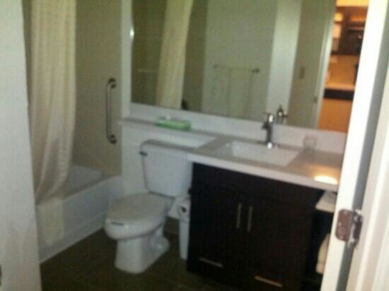 Candlewood Suites Knoxville: Bathroom