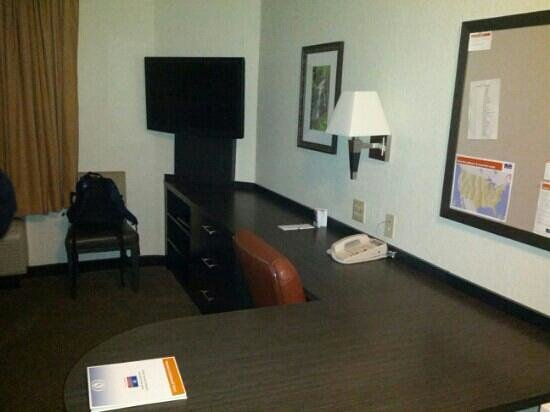 Candlewood Suites Knoxville: Big Desk