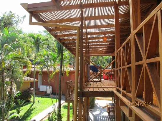 Hotel Arco Iris: Rustic lodge with a 'treehouse feel' yet modern inside!